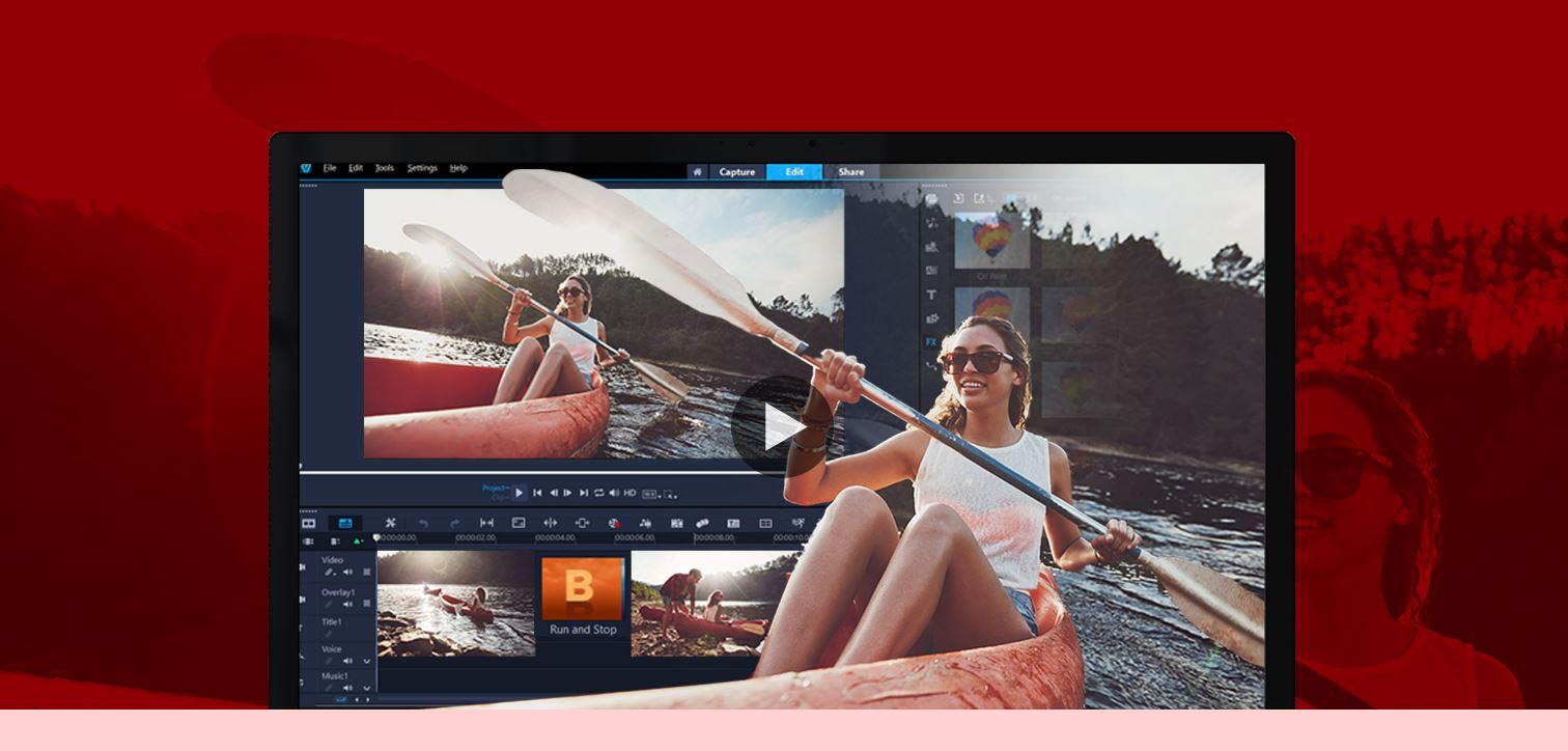 A Corel VideoStudio Pro egy másik fizetős szoftver