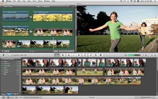 A Windows Movie Make Mac OS X megfelelőjeként az iMovie lehetőséget ad arra, hogy bármelyik filmet jelentős produkcióvá alakítsa