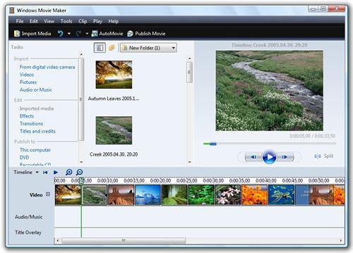 A Windows Movie Maker egy nagyszerű videoszerkesztő eszköz