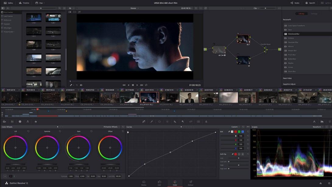 DaVinci Resolve - Ingyenes professzionális videó szerkesztő és színjavító szoftver