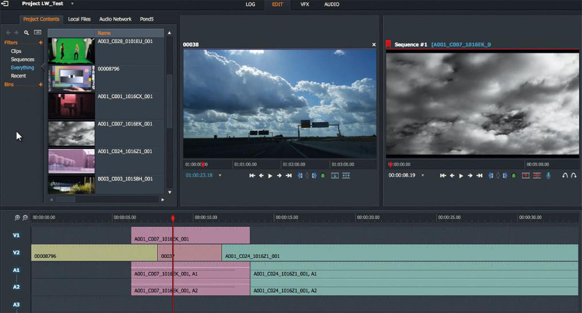 Lightworks - Grandiózus, ingyenes videó szerkesztő szakembereknek