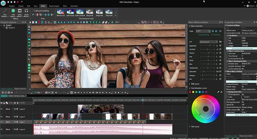 VSDC Video Editor - Ingyenes videó készítő program